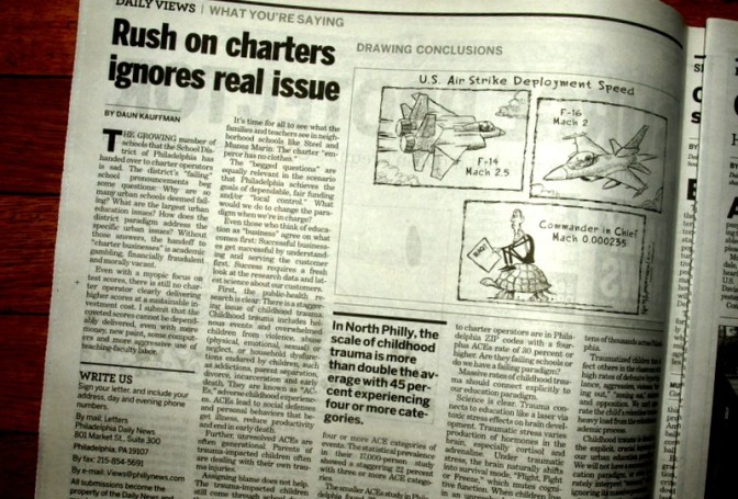 The Rush to Charters Ignores Real Issue