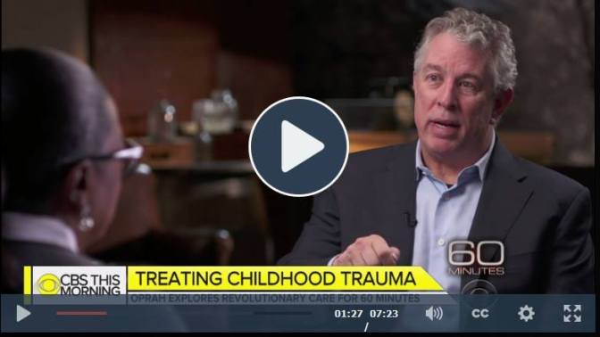 "Oprah and ""60 Minutes"" on Childhood Trauma"